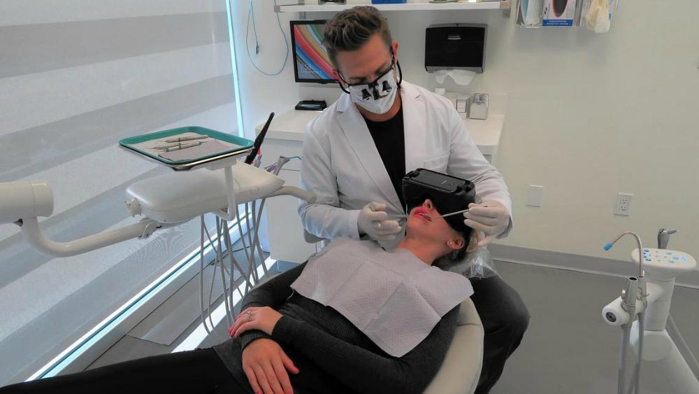 Virtual reality bij de tandarts