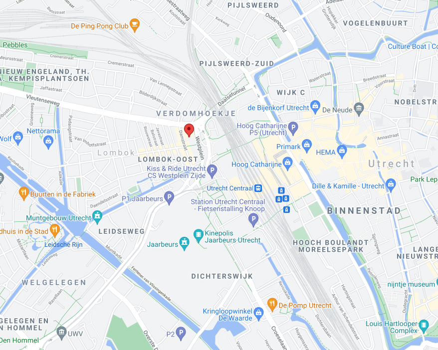Maps Locatie Utrecht